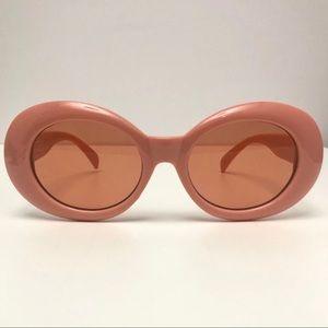 UO Oval Blush Sunglasses, Clout Goggle Style